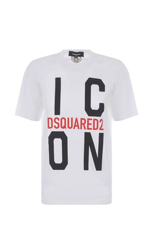 T-shirt Dsquared2 Icon in cotone DSQUARED | 8 | S80GC0024S23009-100