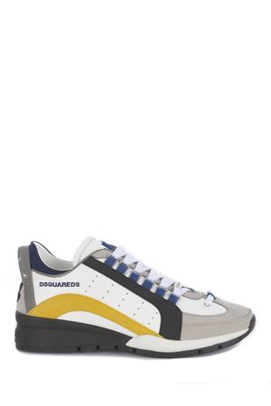 Sneakers Dsquared2 High Sole Rombi in pelle DSQUARED | 5032245 | SNM050501503046-M319