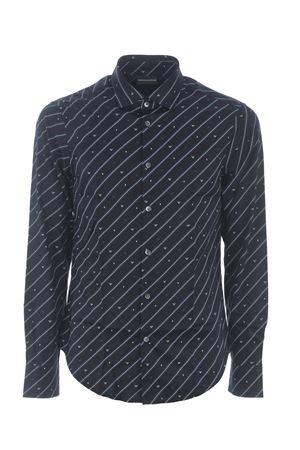 Emporio Armani shirt in stretch cotton EMPORIO ARMANI | 6 | 3K1CC11NXTZ-F952