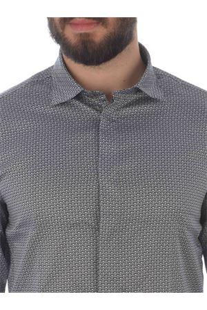 Emporio Armani shirt in stretch cotton EMPORIO ARMANI | 6 | 3K1CP51NXTZ-F955