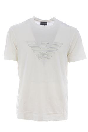 T-shirt Emporio Armani in misto cotone e lyocell EMPORIO ARMANI | 8 | 3K1TAG1JUVZ-0162