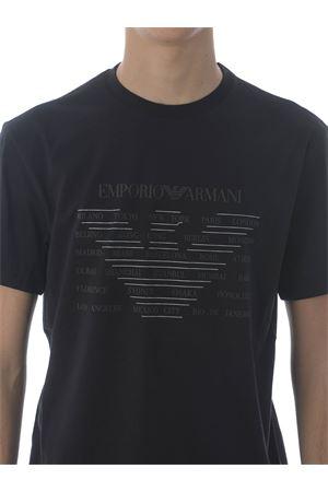 T-shirt Emporio Armani in cotone EMPORIO ARMANI | 8 | 3K1TE11JULZ-0999