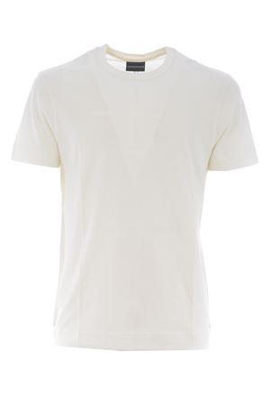 T-shirt Emporio Armani in cotone supima EMPORIO ARMANI | 8 | 3K1TE61JSHZ-0101