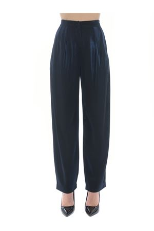 Emporio Armani trousers in double lurex fabric EMPORIO ARMANI | 9 | 3K2P8G2JV4Z-926