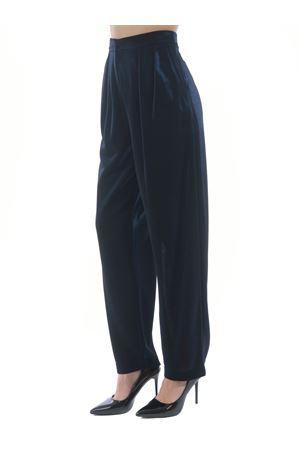 Emporio Armani trousers in double lurex fabric EMPORIO ARMANI | 9 | 3K2P8G2JV4Z-926