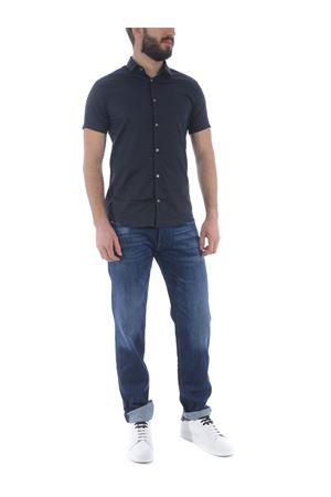 Emporio Armani shirt in cotton blend EMPORIO ARMANI | 6 | 8N1C101N06Z-0932