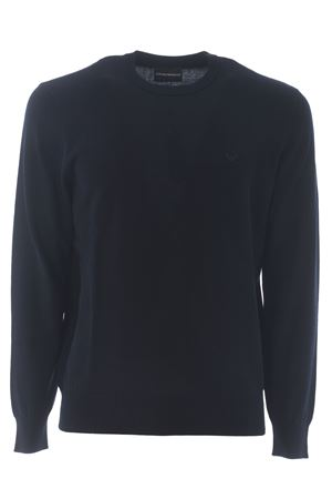 Emporio Armani sweater in cotton thread EMPORIO ARMANI | 7 | 8N1MC81MPPZ-0927