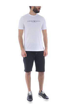 Emporio Armani shorts in cotton blend EMPORIO ARMANI | 30 | 8N1PH31J07Z-0999