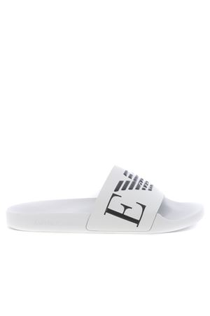 Emporio Armani eco-leather slippers EMPORIO ARMANI | 5032249 | X4PS06XM760-L007