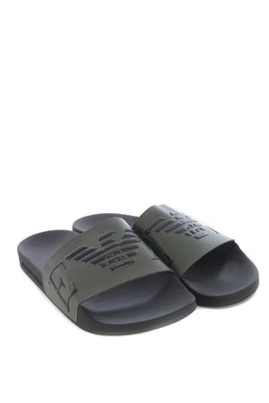 Emporio Armani eco-leather slippers EMPORIO ARMANI | 5032249 | X4PS06XM760-N597