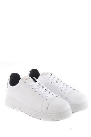 Emporio Armani leather sneakers EMPORIO ARMANI | 5032245 | X4X312XM747-A222