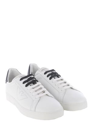 Emporio Armani sneakers in leather EMPORIO ARMANI | 5032245 | X4X316XF527-N422