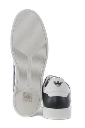 Emporio Armani sneakers in leather EMPORIO ARMANI | 5032245 | X4X316XF527-N642