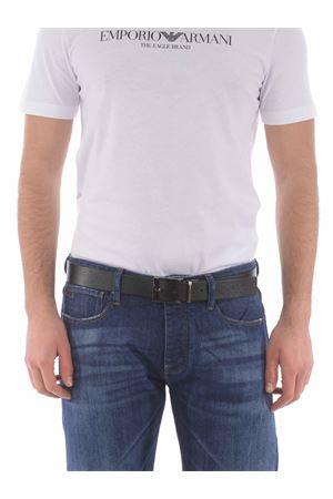 Cintura Emporio Armani reversibile in pelle EMPORIO ARMANI | 22 | Y4S195YLO8J-81972