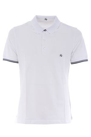 Polo Fay in piquet di cotone stretch FAY | 2 | NPMB242134STDWB001