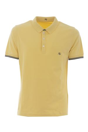 Polo Fay in piquet di cotone stretch FAY | 2 | NPMB242134STDWG003