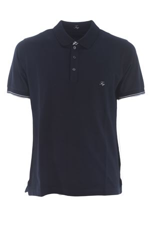 Polo Fay in piquet di cotone stretch FAY | 2 | NPMB242134STDWU807