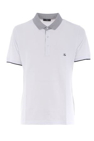 Fay stretch cotton polo shirt FAY | 2 | NPMB242137STDWB001