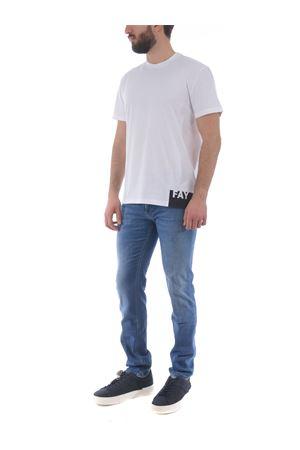 Fay cotton T-shirt FAY | 8 | NPMB3421310SHOB001
