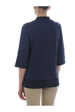 Fay stretch viscose sweater with silk profiles FAY | 7 | NPWB842608STGRU807
