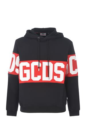 GCDS Band Logo cotton sweatshirt  GCDS | 10000005 | CC94M021013BLACK