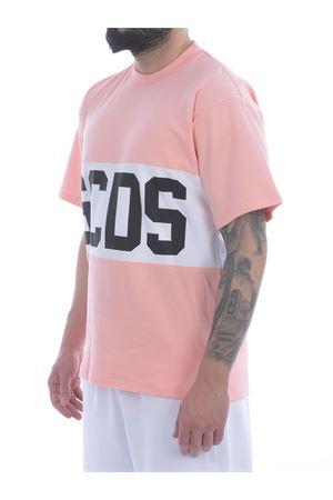 T-shirt GCDS Band Logo in cotone GCDS   8   CC94M021014PINK
