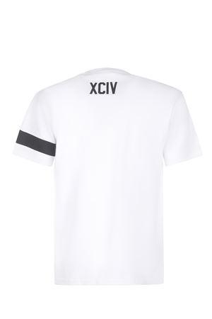 GCDS Logo cotton T-shirt GCDS | 8 | CC94M021051WHITE