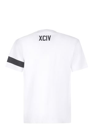 T-shirt GCDS Logo in cotone GCDS | 8 | CC94M021051WHITE