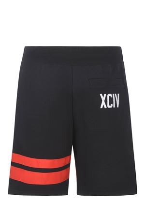 Shorts GCDS Logo in felpa di cotone GCDS | 30 | CC94M031001BLACK