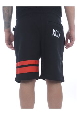 GCDS Logo shorts in cotton fleece GCDS | 30 | CC94M031001BLACK