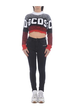 GCDS Logo Degradé cotton sweater GCDS | 7 | CC94W020403RED