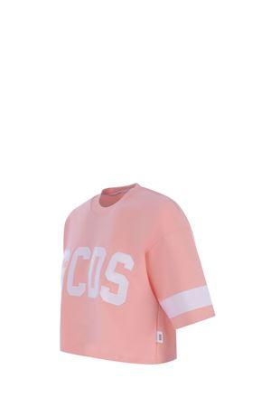 GCDS Crop Logo cotton T-shirt GCDS | 8 | CC94W021005PINK