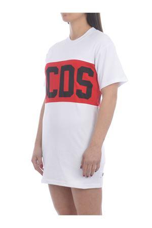 GCDS Band Logo cotton dress GCDS | 11 | CC94W021011WHITE
