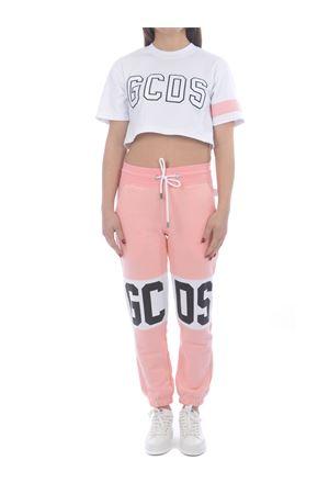 Pantaloni di tuta GCDS Band Logo in cotone GCDS | 9 | CC94W031001PINK