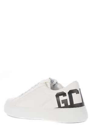 GCDS Bucket sneakers in leather GCDS | 5032245 | SS21M010038BLACK