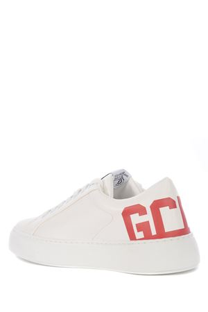 GCDS Bucket leather sneakers GCDS | 5032245 | SS21M010038RED