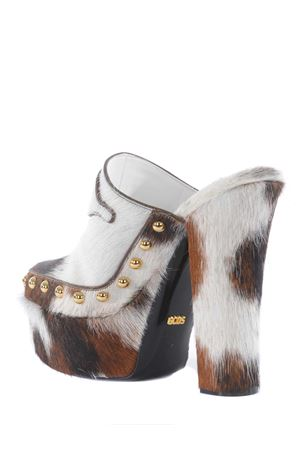 Zoccoli GCDS Clogs in cavallino GCDS | 12 | SS21W010018BROWN