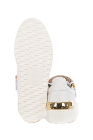 Sneakers Giuseppe Zanotti Scocca Low in pelle GIUSEPPE ZANOTTI | 5032245 | RM10027001