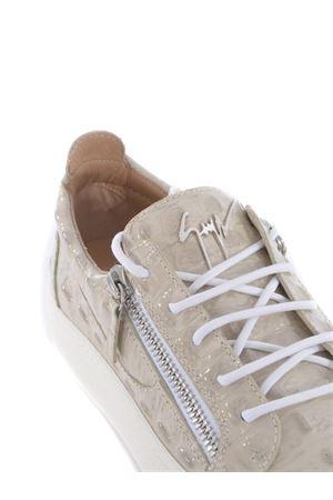 Giuseppe Zanotti Logoball leather sneakers GIUSEPPE ZANOTTI | 5032245 | RU00010042