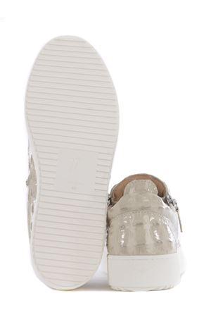 Sneakers Giuseppe Zanotti Logoball in pelle GIUSEPPE ZANOTTI | 5032245 | RU00010042