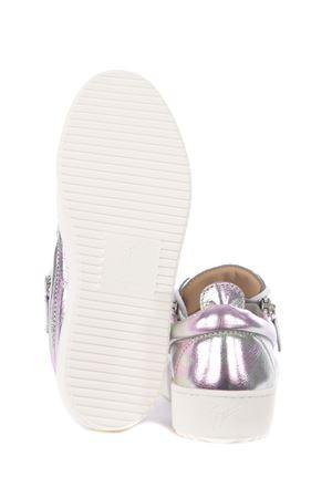 Giuseppe Zanotti Logoball leather sneakers GIUSEPPE ZANOTTI | 5032245 | RW00017036
