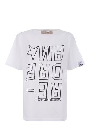 Golden Goose Aira Boyfriend cotton T-shirt GOLDEN GOOSE | 8 | GWP00803P000187-10283