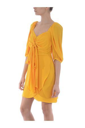 Hanita short dress in light cady HANITA | 11 | V27513050-ZAFFERANO