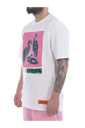 T-shirt Heron Preston in cotone HERON PRESTON | 8 | HMAA020R21JER0030130