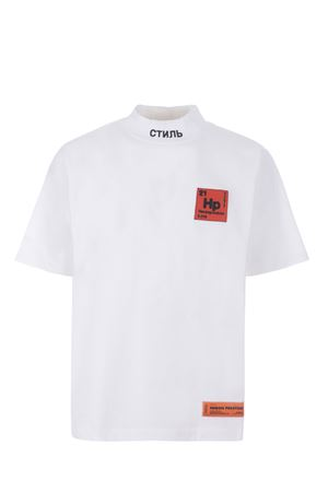 T-shirt Heron Preston turtleneck in cotone HERON PRESTON | 8 | HMAA021S21JER0010125