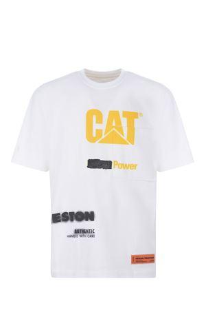 T-shirt Heron Preston poker in cotone HERON PRESTON | 8 | HMAA028S21JER0010118