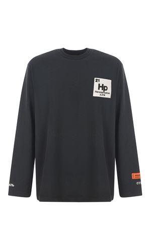 Heron Preston cotton long sleeve t-shirt  HERON PRESTON | 8 | HMAB016R21JER0011049