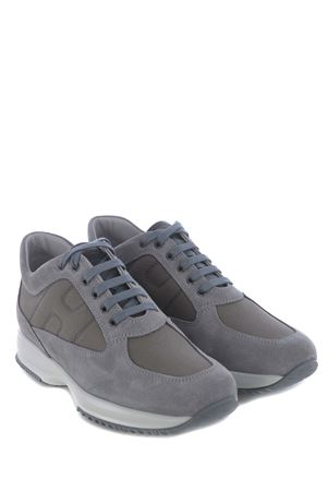 Hogan interactive sneakers in suede and nylon HOGAN | 5032245 | HXM00N00E10806416A