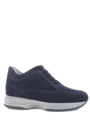 Hogan interactive sneakers in suede and nylon HOGAN | 5032245 | HXM00N00E10806U801