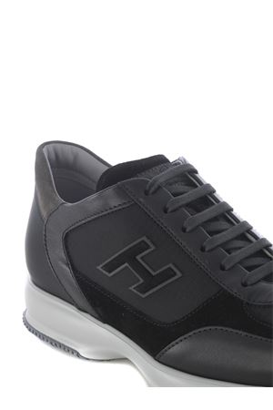 Hogan Interactive sneakers in nubuck and leather HOGAN | 5032245 | HXM00N0Q101PDH175E